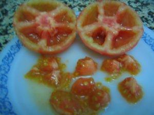 Tomates sin pepitas