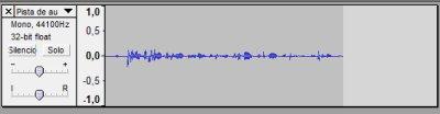 Grabamos una pista de audio con el micro
