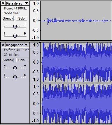 Pista de audio y música