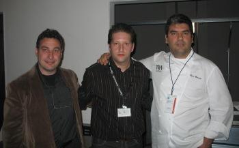 Paco Roncero, ChefUri y representante Olis Bargalló