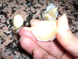 ajo Consejos paso a paso (XX): Pelar los ajos fácilmente