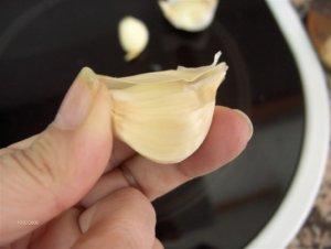 ajo pelado Consejos paso a paso (XX): Pelar los ajos fácilmente