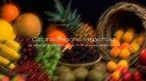 Libro electrónico cocina regional española