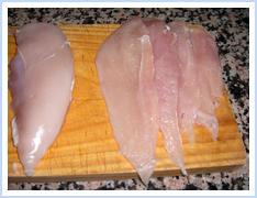 pechuga tabla Consejos paso a paso (XXVI) : Filetear una pechuga de pollo