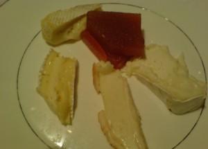 Tabla de quesos drolma