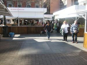 mercado gastronómico de madrid 2009, la plaza
