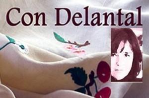 con delantal logo