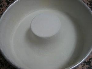 molde cubierto para tarta