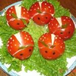tomate relleno de mozarella 150x150 Fotos de comida Curiosa