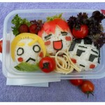 bentocaras 150x150 Fotos de comida Curiosa. El sushi