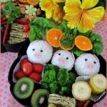 cerdosbento 150x150 Fotos de comida Curiosa. El sushi