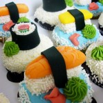 cupcakessushu 150x150 Fotos de comida Curiosa. El sushi