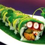 gusanoroll 150x150 Fotos de comida Curiosa. El sushi