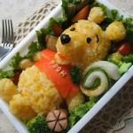 winithepoohbento 150x150 Fotos de comida Curiosa. El sushi