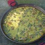 paellabarberini2 150x150 Receta: Paella Valenciana a la leña