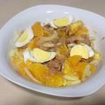 ensalada naranja 150x150 Recetas sabrosas y refrescantes para el verano (I)